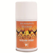Microburst 9000 Aerosol Air Neutralizer Refills - Mandarin Orange