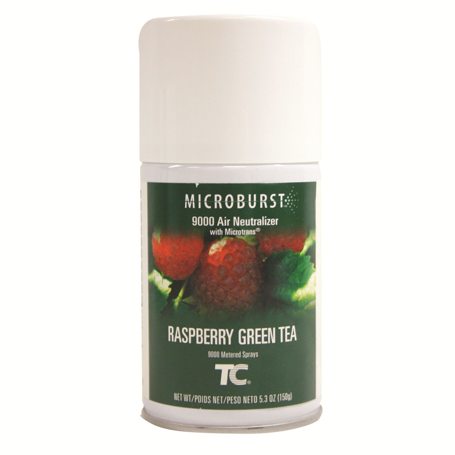 TC Microburst 9000 Aerosol Air Neutralizer Refills - Raspberry Green Tea