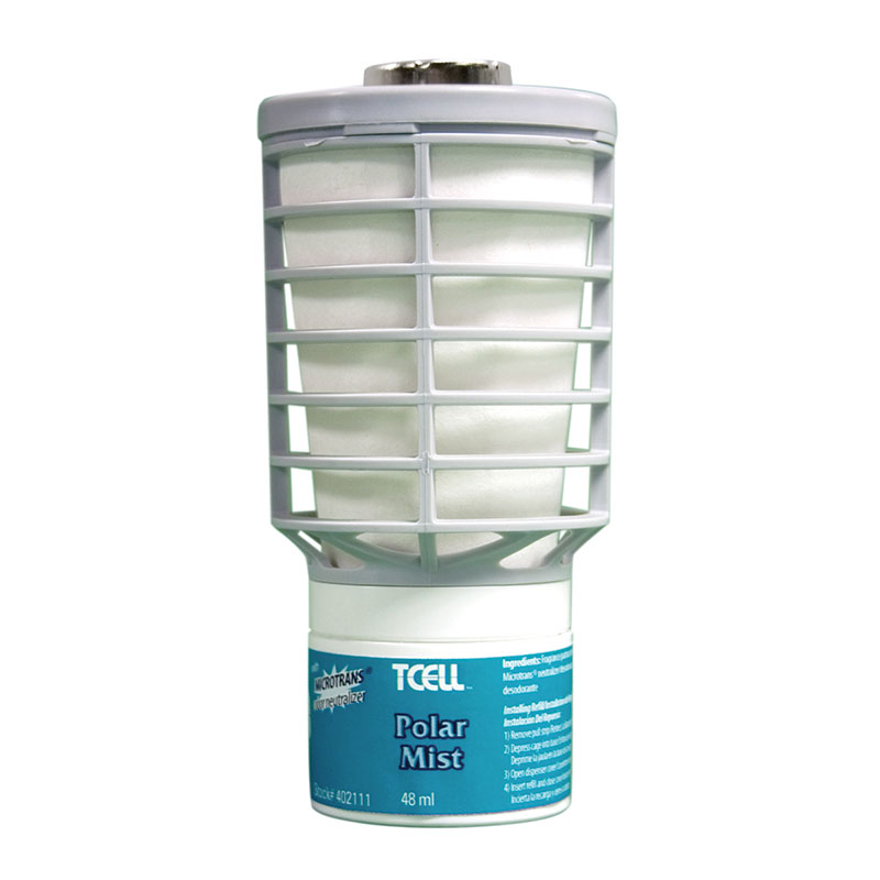 TC Rubbermaid TCell Odor Control System Fragrance Refill - Polar Mist