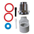 TC Rubbermaid AutoFlush Crane Sidemount Flush Valve Adapter Kit