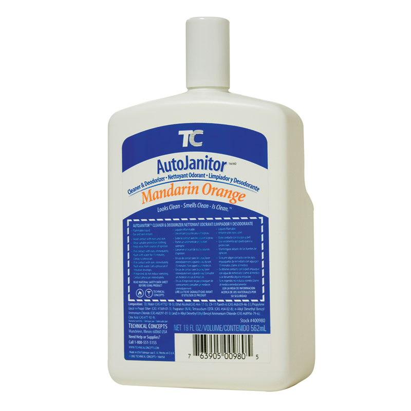 TC AutoJanitor Cleaner & Deodorizer Refill - Mandarin Orange