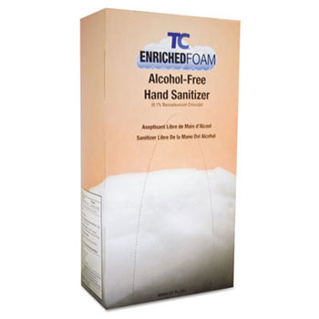 TC Enriched Foam Alcohol-Free Hand Sanitizer Refill