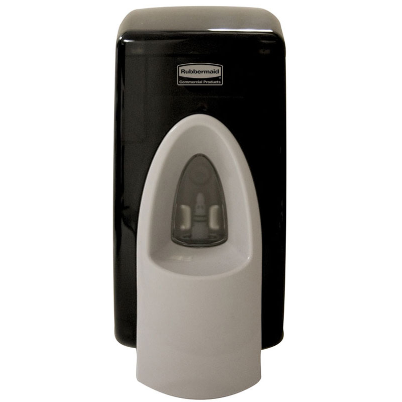 TC Rubbermaid CleanSeat Spray Toilet Seat & Handle Cleaner - 400ml Dispenser - Black
