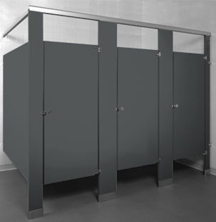 Powder Coated Toilet Partitions Unoclean