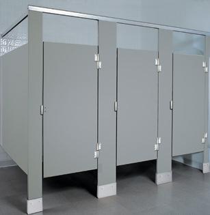 Solid Plastic Toilet Partitions Hdpe Unoclean