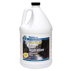 Nilodor Water Soluble Odor Neutralizer - (4) 1 Gallon Bottles        CC-128SBNWSNAT-CL