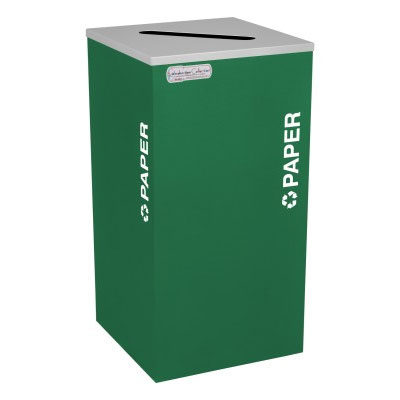 Paper Recycling Receptacle Bin Container EXC-RC-KDSQ-P-EGX