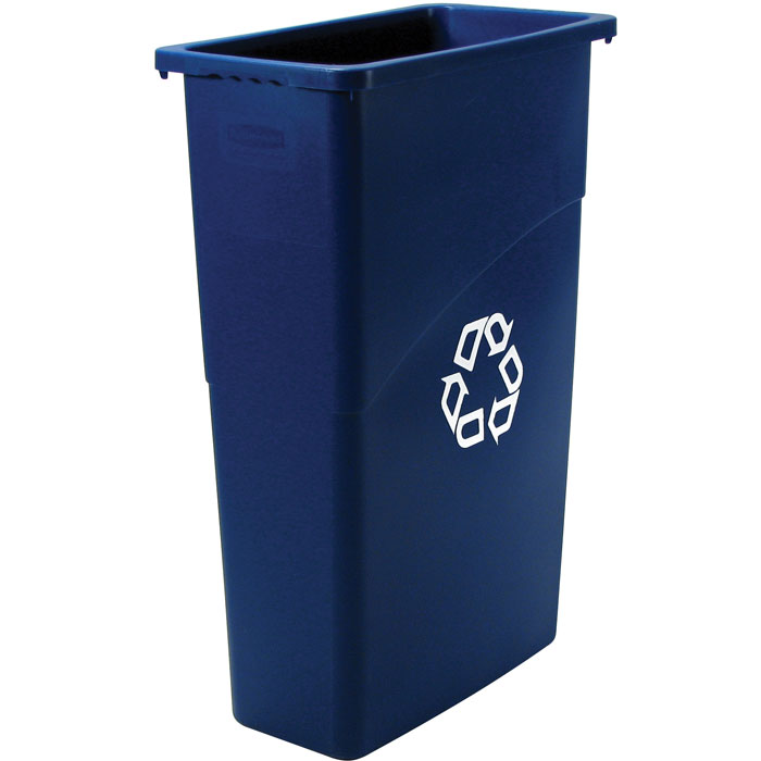Rubbermaid Slim Jim Recycling Container - 23 Gallon