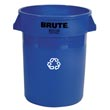 Rubbermaid [2632-73] BRUTE® Recycling Container - 32 Gallon