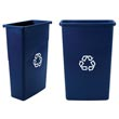 Rubbermaid [3540-75] Slim Jim® Recycling Container - 23 Gallon RCP3540-75BLU