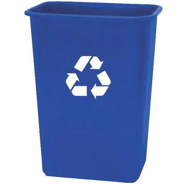 Eco Sense Deskside Recycling Container - 41 qt.