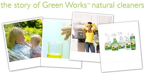 Clorox Green Works Environmentally Friendly Cleaning Products