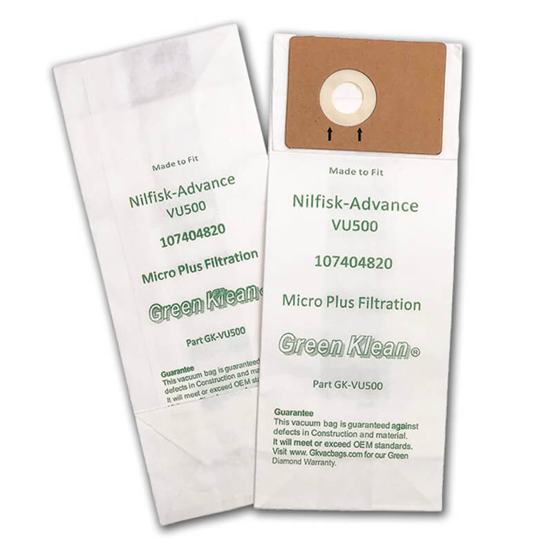 Advance VU500 12 & 15 Upright Vacuum Filter Bag Case