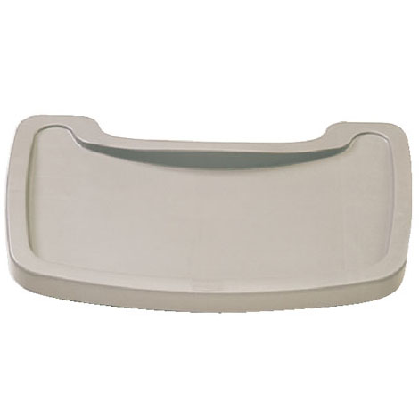 Sturdy Chair Microban Youth Seat Tray, Plastic, Platinum RCP7815-88PLA