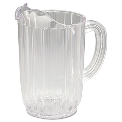 Bouncer Plastic Pitcher, Clear - 32 oz. RCP3336CLE