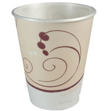 Symphony Design Trophy Foam Hot/Cold Drink Cups - (1500) 10 oz. Cups SCCX10NSYM