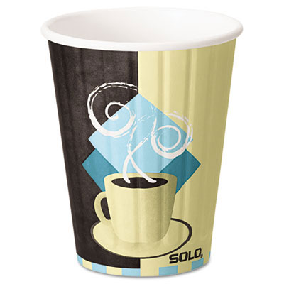 Duo Shield Insulated Paper Hot Cups - 12 oz.