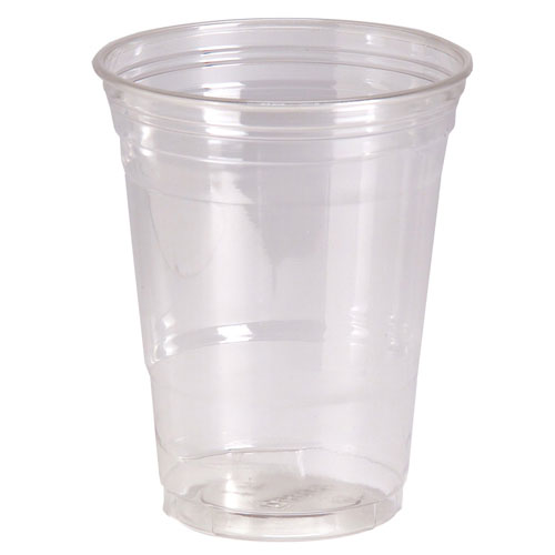 Dixie Clear Pete Plastic Cold Cup - 16 oz.