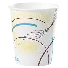 Meridian Design Paper Water Cups - (100) 5 oz. Cups SCC52MD
