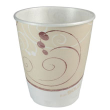 Symphony Design Trophy Foam Hot/Cold Drink Cups - (1000) 8 oz. Cups SCCX8SYM