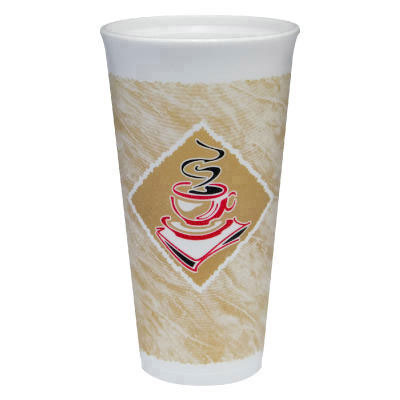 Foam Hot/Cold Cups, 20 oz. G Design