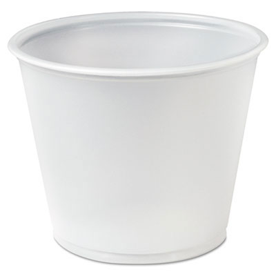 Solo Cup Plastic Translucent Portion Cups