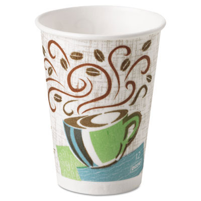 PerfecTouch Paper Hot Cup, Coffee Dream - 12 oz.
