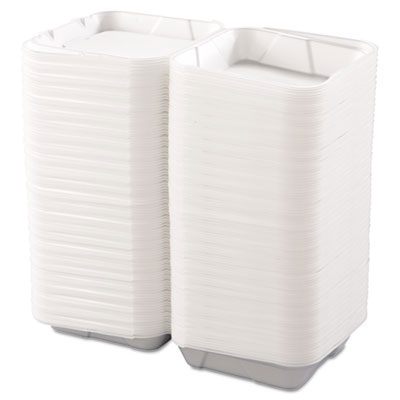 Snap-it Foam Hinged Carryout Containers, 1-Comp - 9.25