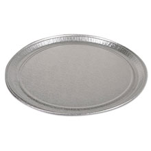 "CaterWare Deluxe Embossed Flat Aluminum Trays, 1-Comp - (50) 18"" Dia. Trays PAC451812A"