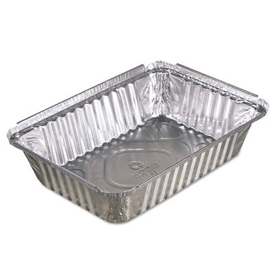Oblong Aluminum Food Pan - 36 oz.