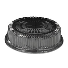 Plastic Dome Lid, Round, Embossed, 12 in, Fits 4012/4013, 25/Case HFA4012DL