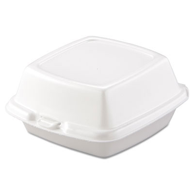Foam Hinged Food Container