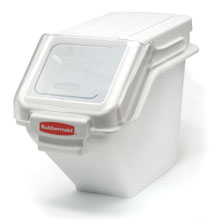 ProSave Shelf Ingredient Bins - 5.4 Gallon RCP9G57WHI
