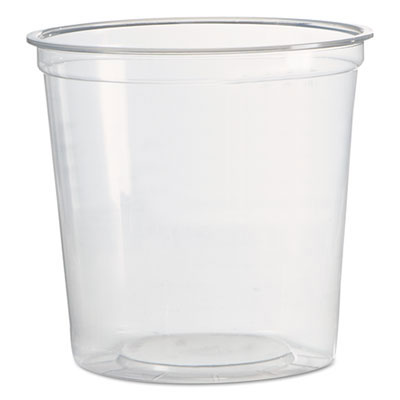 24 oz. 1-Comp Deli Containers, Clear - 500 Pack WNAAPCTR24
