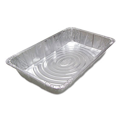 Ribbed FS Aluminum Steam Pans - 20.75