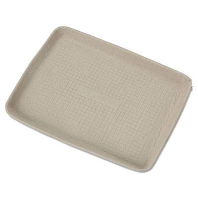 Savaday Molded Fiber Food Trays - Beige - 9