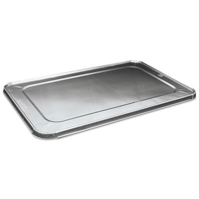 Full Size Steam Table Pan Lid, Aluminum, 50/Case BWKLIDSTEAMFL