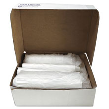 "Commercial Can Liners, 16 Microns - 55-60 Gallon, 43"" x 48"" x 16"" - 200 Case IBSS434816N"