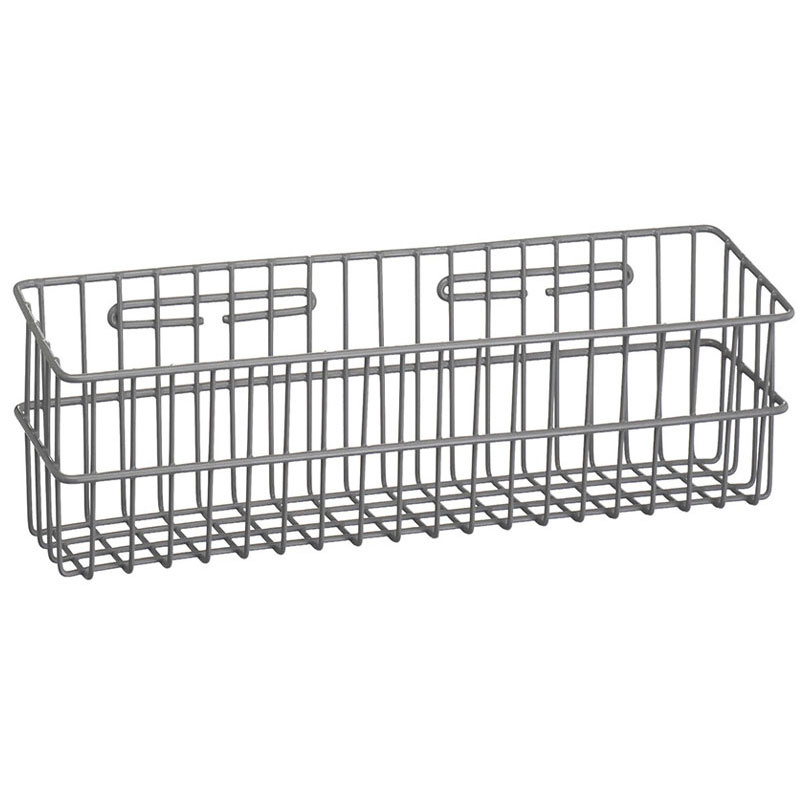 R&B Wire 2250 Metal Medical Storage Basket - Wall Mounted