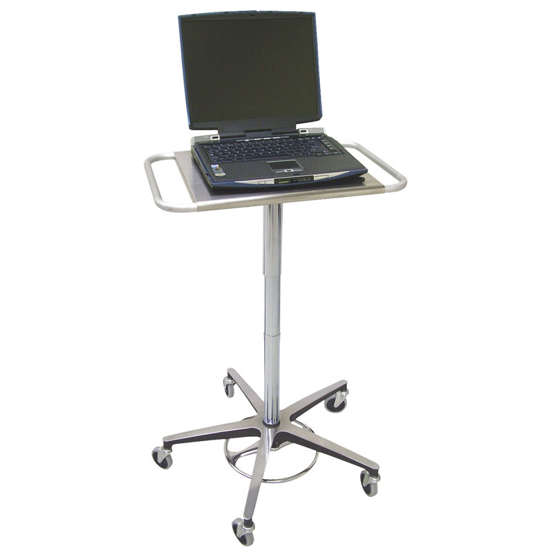 Omnimed Adjustable Transport Laptop Stand