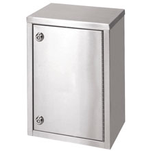 "Single Door Narcotic Cabinet, Two Shelves - 8"" Depth"