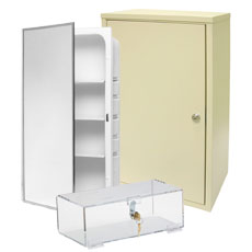 Medicine u0026 Narcotic Cabinets  sc 1 st  UnoClean & Medical Storage Cabinets u0026 Dispensers - Wall Mounted - UnoClean
