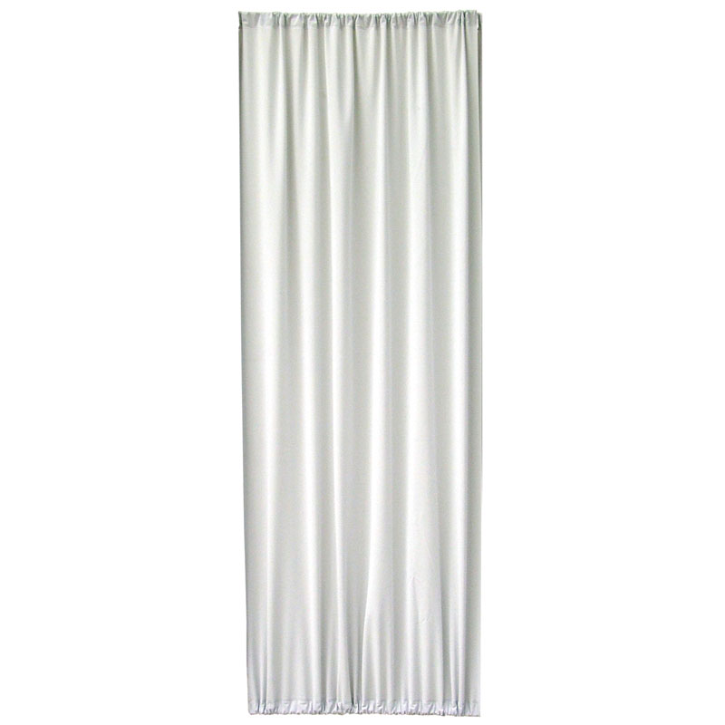 Designer Cloth Privacy Screen Panel - Frost