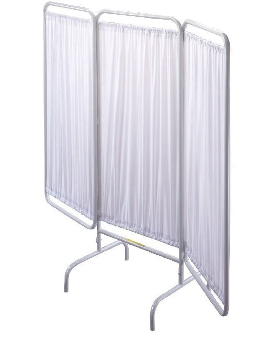 R&B Wire PSS-VP White Vinyl Panel Patient Privacy Screen Replacements
