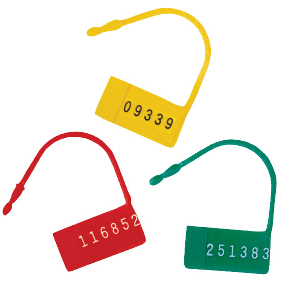 Omnimed Numbered Safety Control Seals - Red
