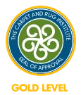 CRI Certified Cleaning Product - Gold Level