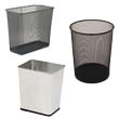 Commercial Metal Wastebaskets & Trash Cans - Waste Receptacles