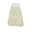 Cut-End Wet Mop Head, Cotton, #16 Size, White UNS2016C