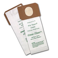 Green Klean 103483 Pro-Team ProLux & ProForce Replacement Filter Bags - 10 Pack GK-ELU-10