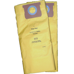 Vacuum Replacement Filter Bag - Shop Vac 906-73-00 High Efficiency Drywall Dust - 2 Pack